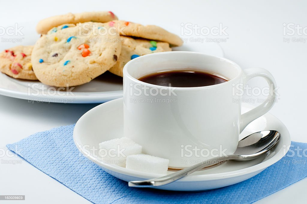 coffee cookie royalty-free stock photo