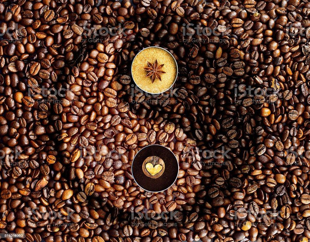 Coffee creative concept stock photo