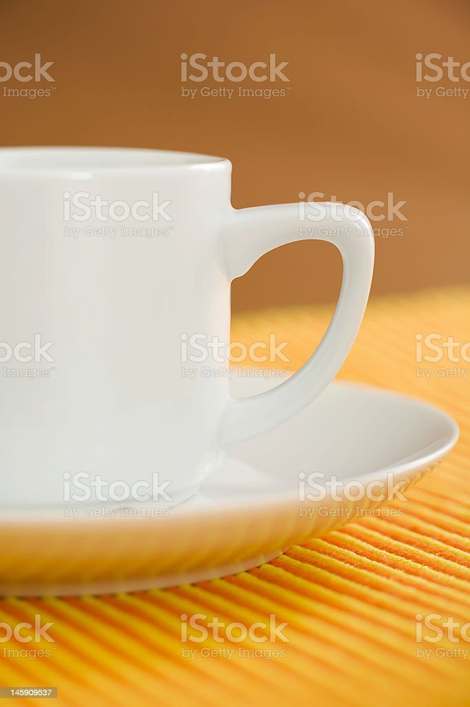 Coffee cup close up royalty-free stock photo
