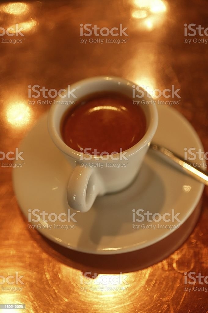 Coffee Cup. Color image royalty-free stock photo