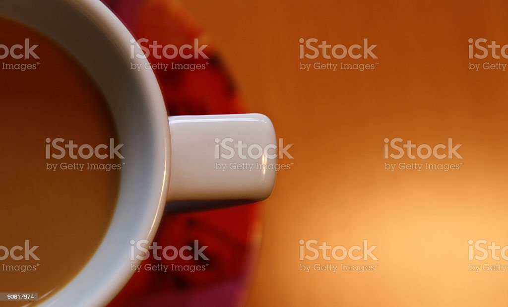 Coffee Cup - copy space royalty-free stock photo