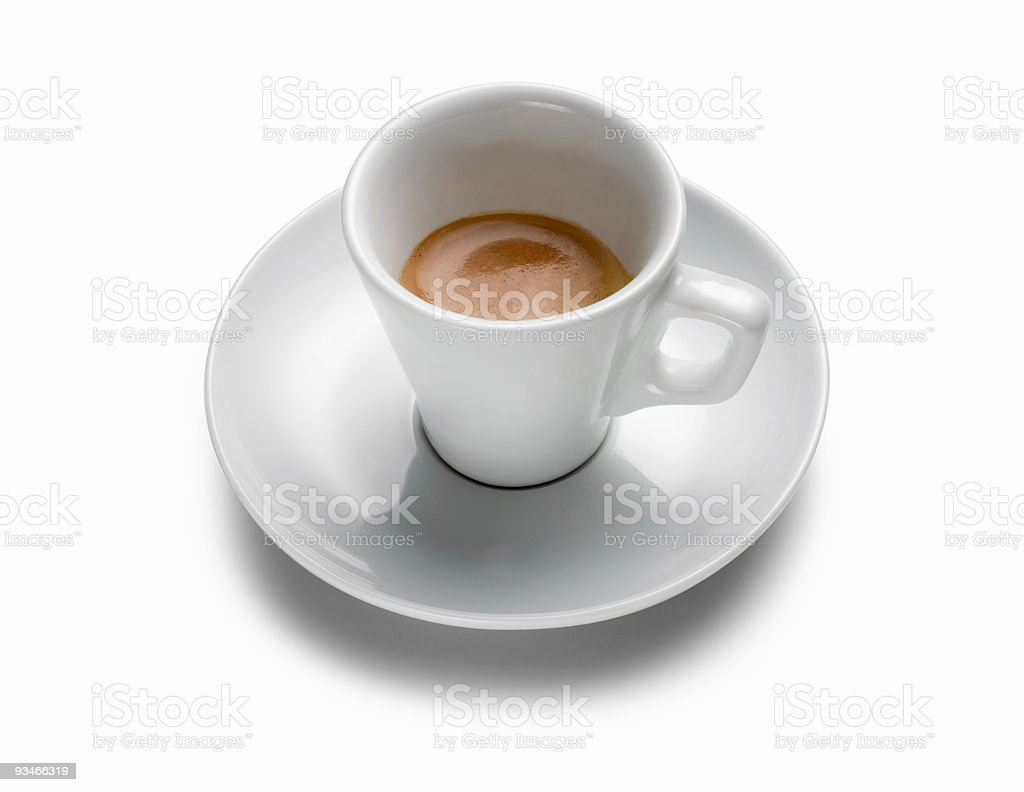 Coffee cup espresso royalty-free stock photo