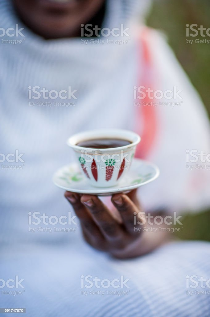 Coffee Cup Focus stock photo