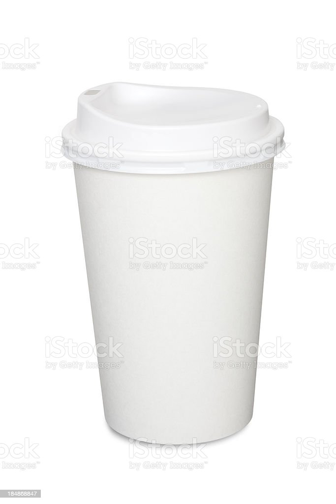 Coffee Cup Isolated royalty-free stock photo