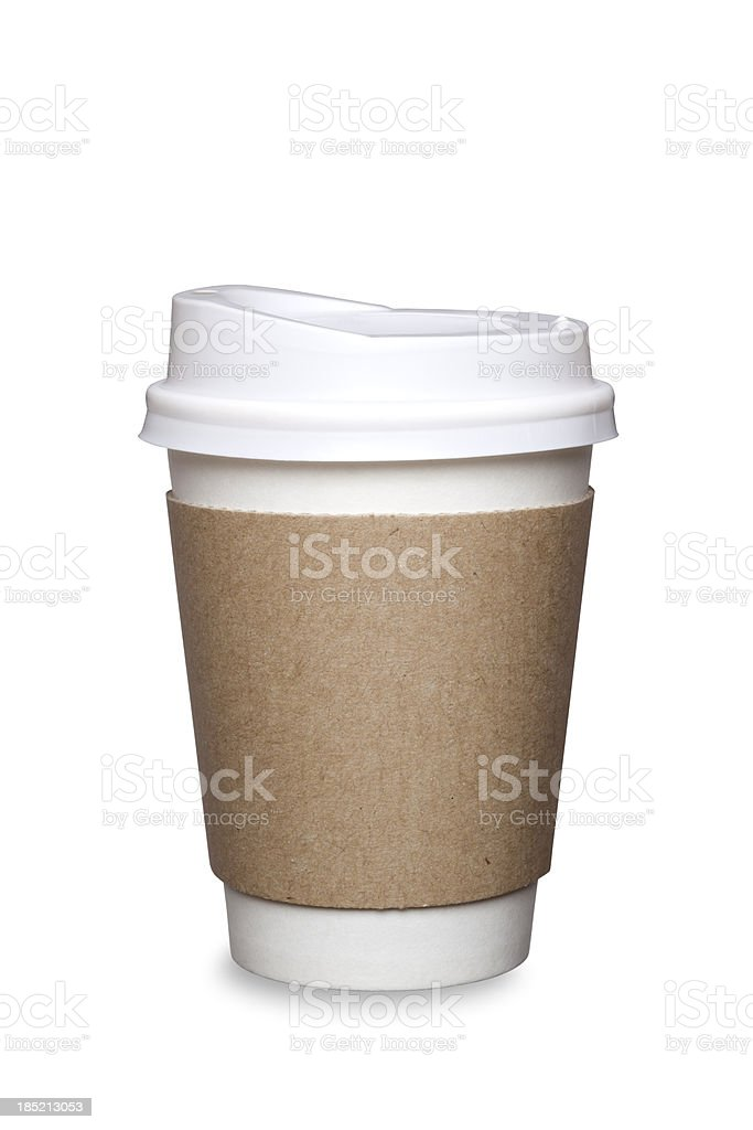 Coffee Cup Isolated stock photo