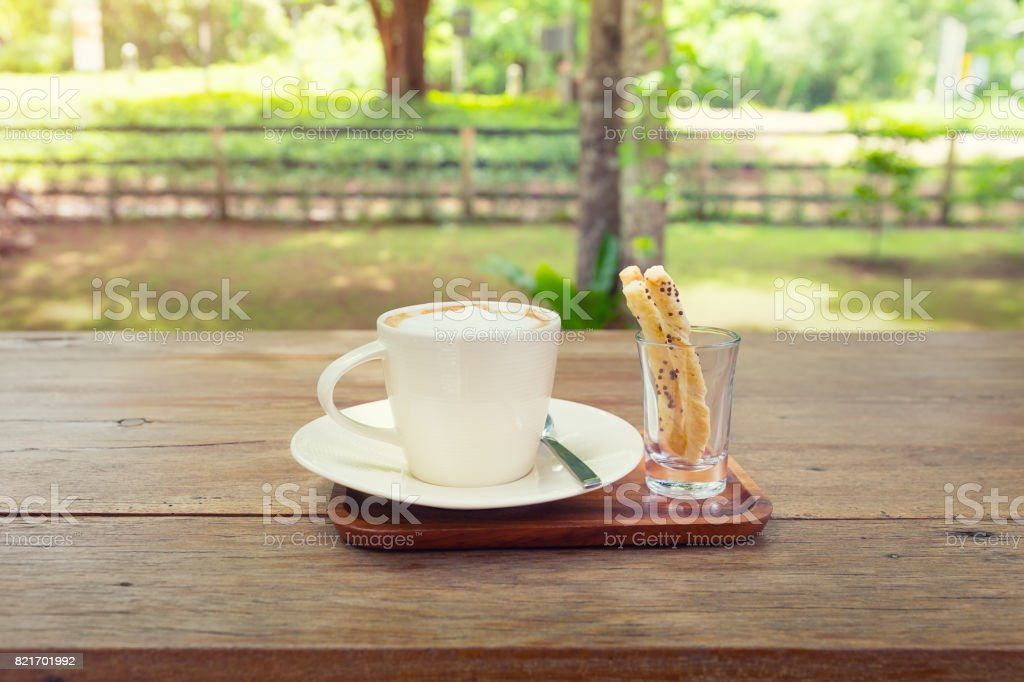 Coffee Cup Nature stock photo