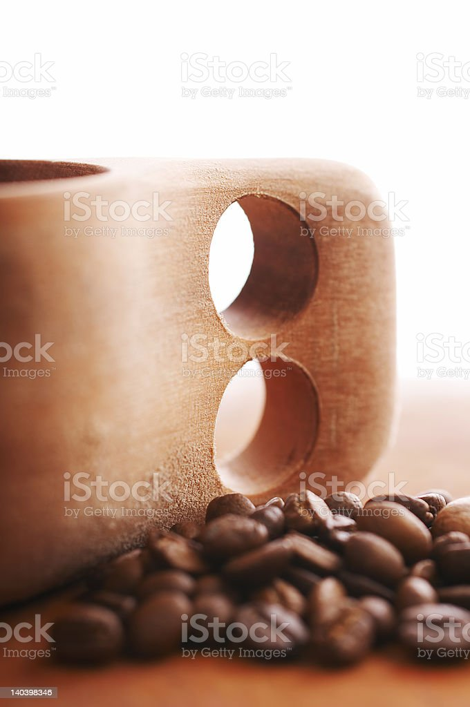 Coffee cup royalty-free stock photo