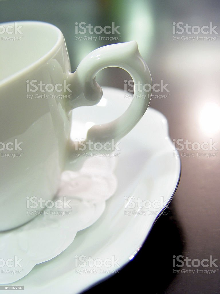 Coffee Cup (close up) royalty-free stock photo