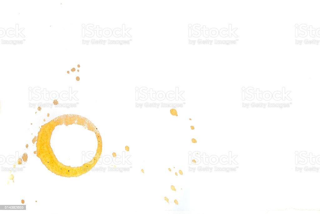 Кофейная кружка окрашивание Стоковые фото Стоковая фотография