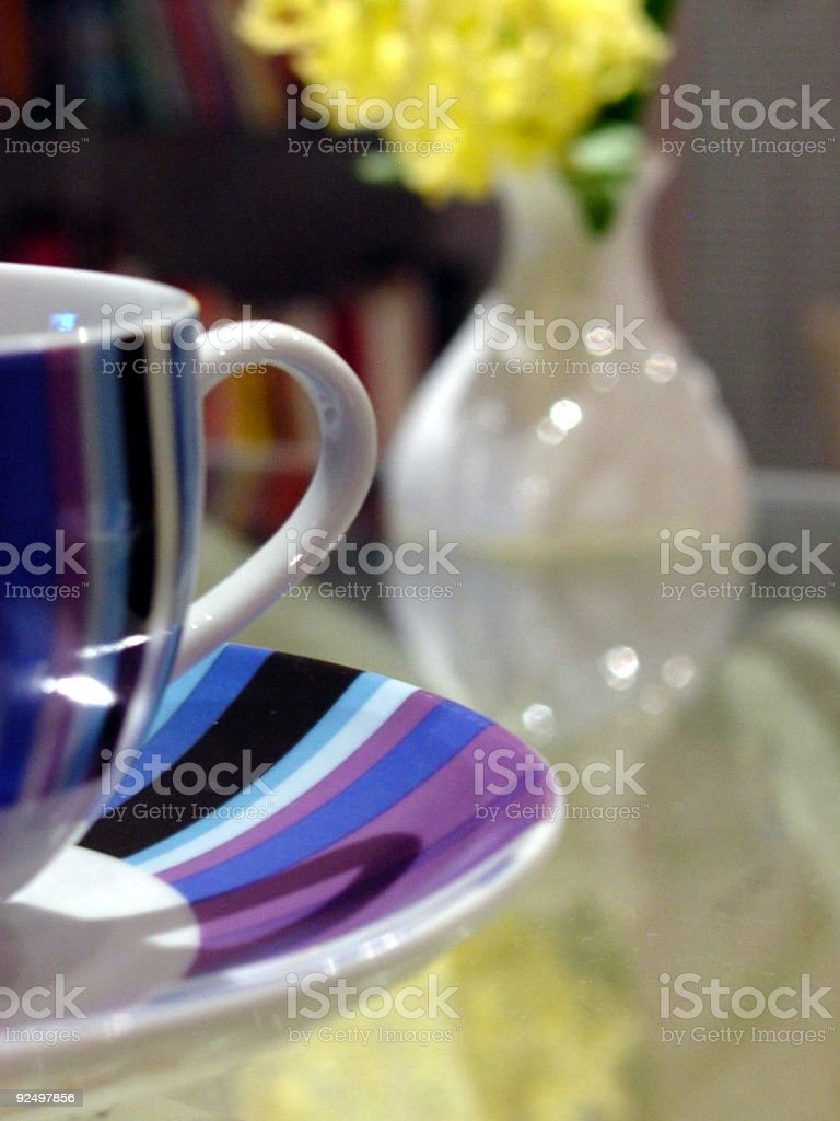 Coffee cup - stylised royalty-free stock photo