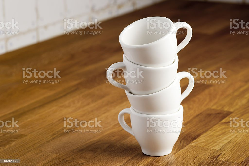 Coffee cups. royalty-free stock photo
