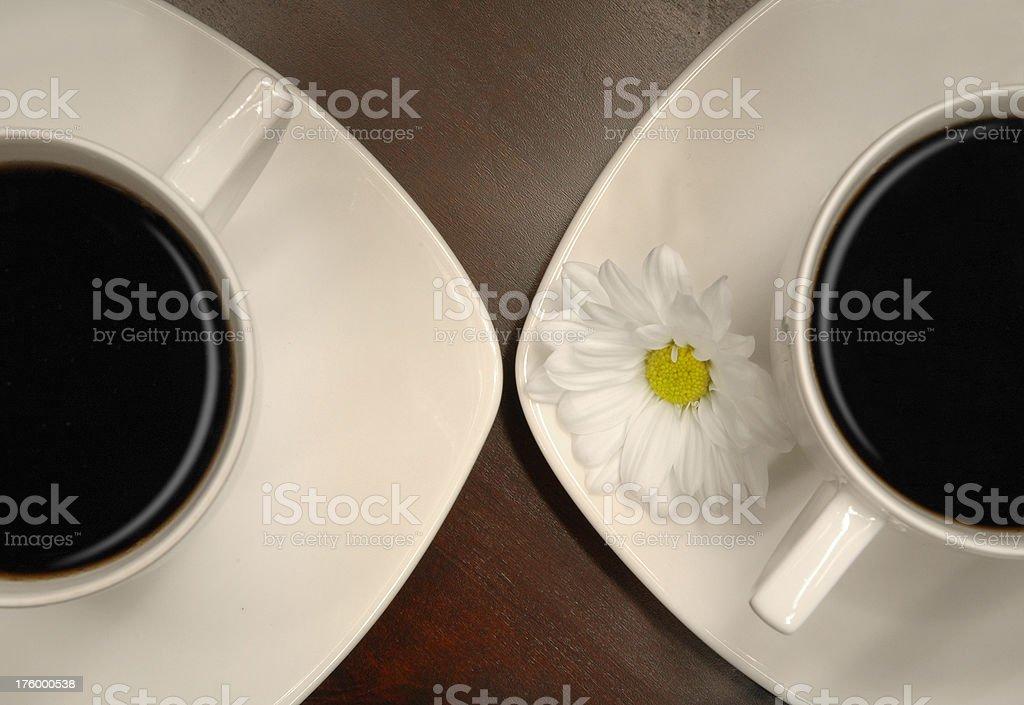 coffee date stock photo
