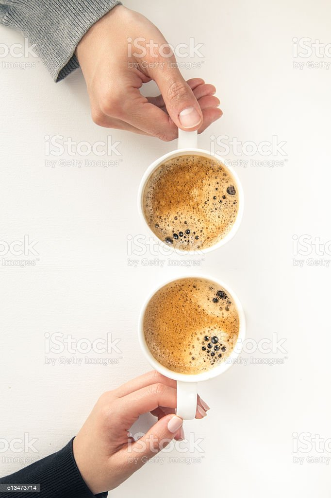 Coffee date stock photo