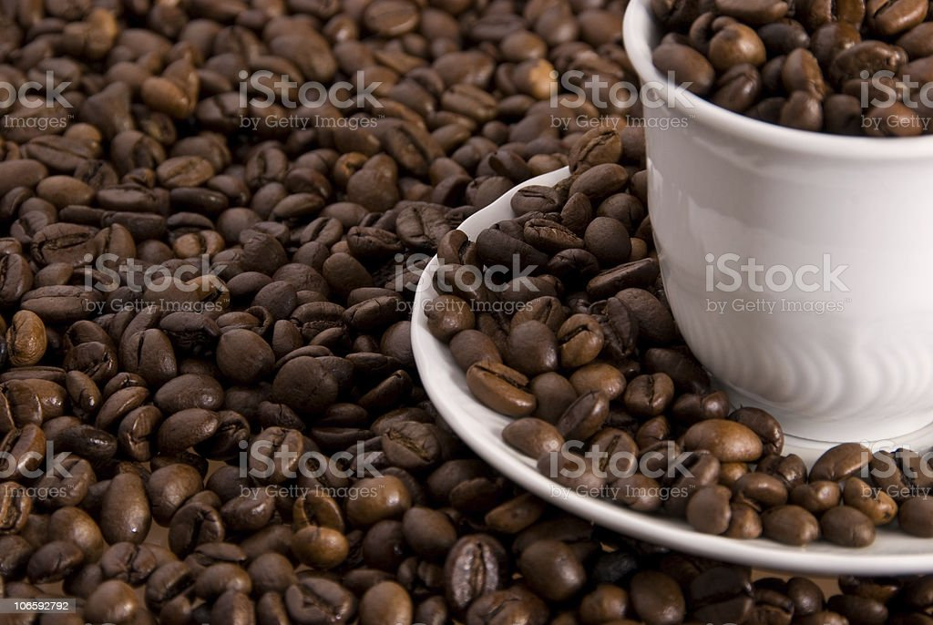 coffee details stock photo