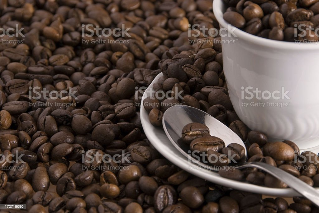 coffee details royalty-free stock photo