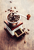 Coffee devices - grinde and  beans