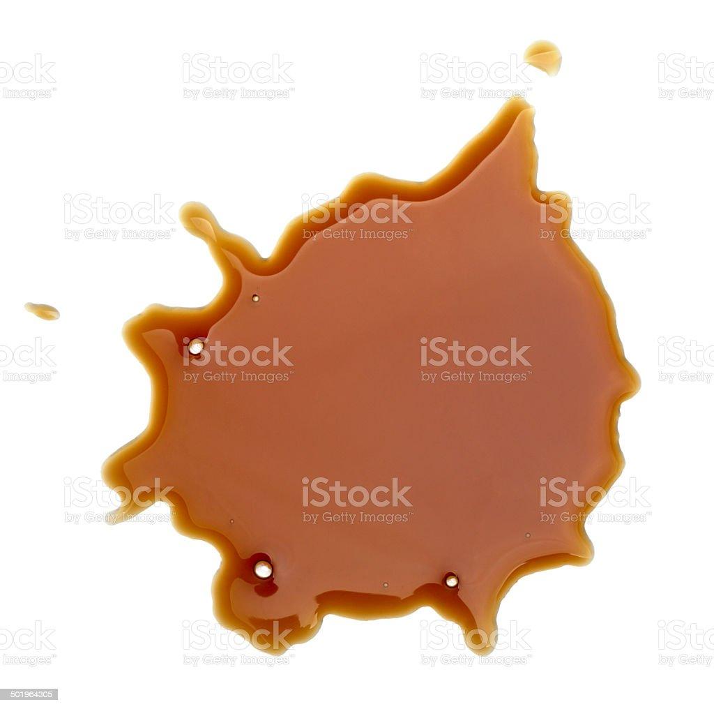 coffee drink beverage splashing stain dirty royalty-free stock photo