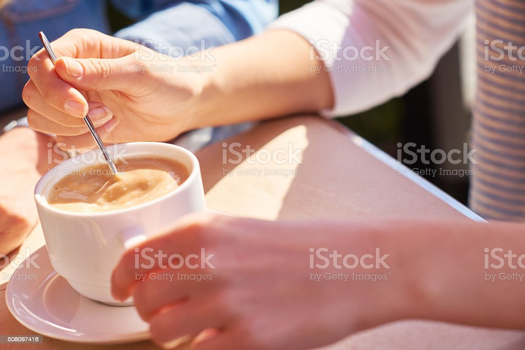 Coffee drink stock photo