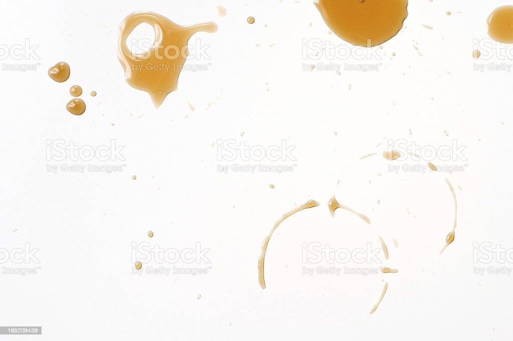 Coffee drips stock photo