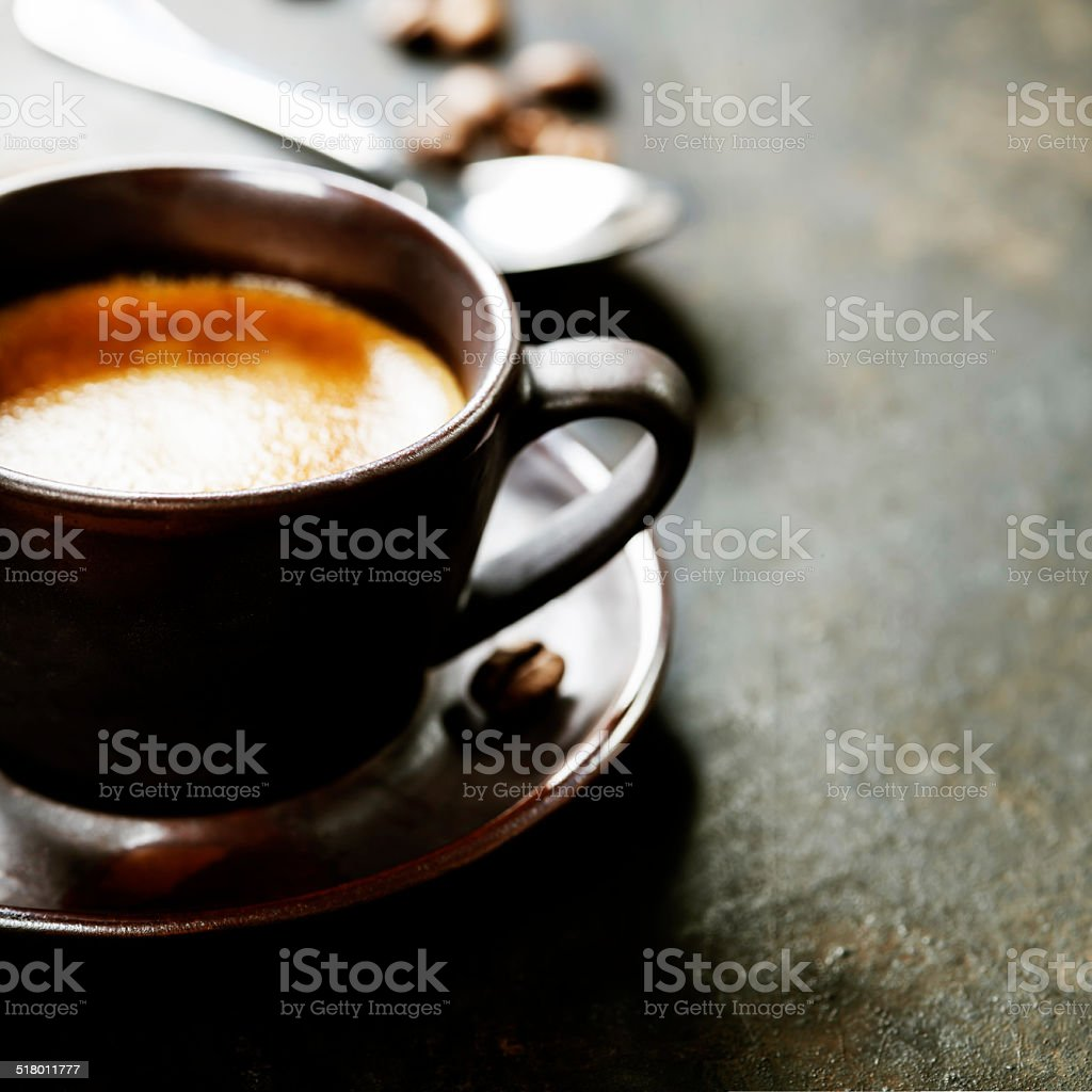 Coffee Espresso. stock photo