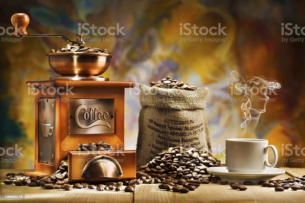 coffee for still life stock photo