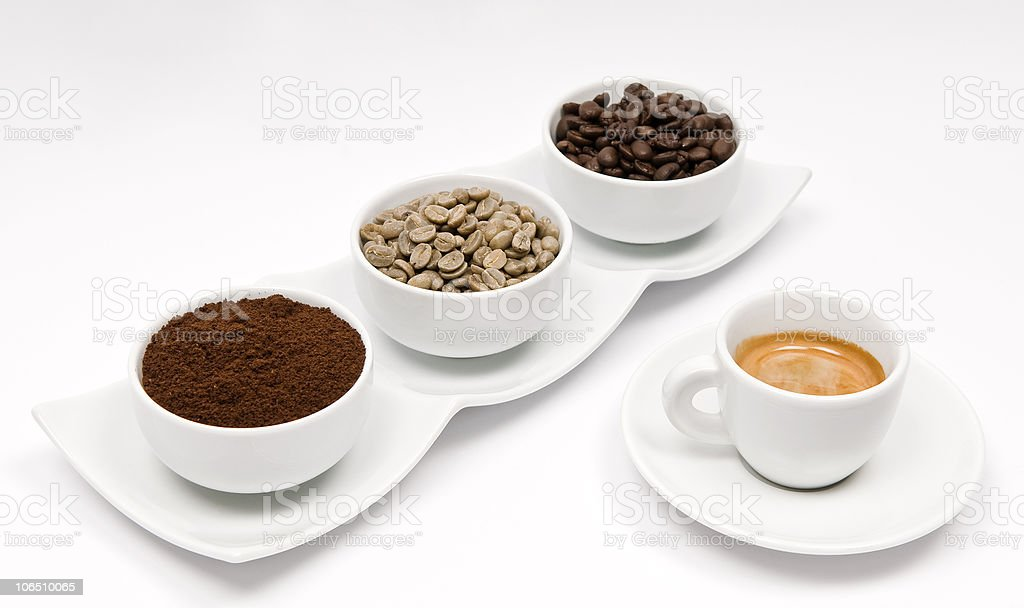 Coffee -  Four Times royalty-free stock photo
