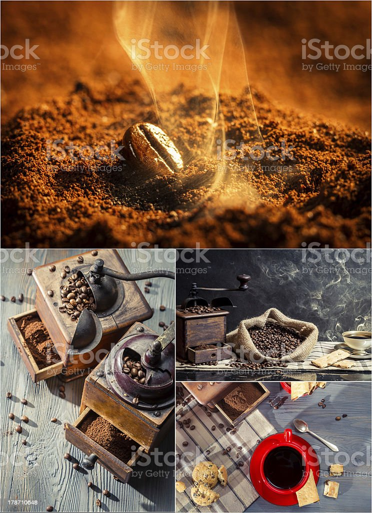 Coffee fragrance royalty-free stock photo