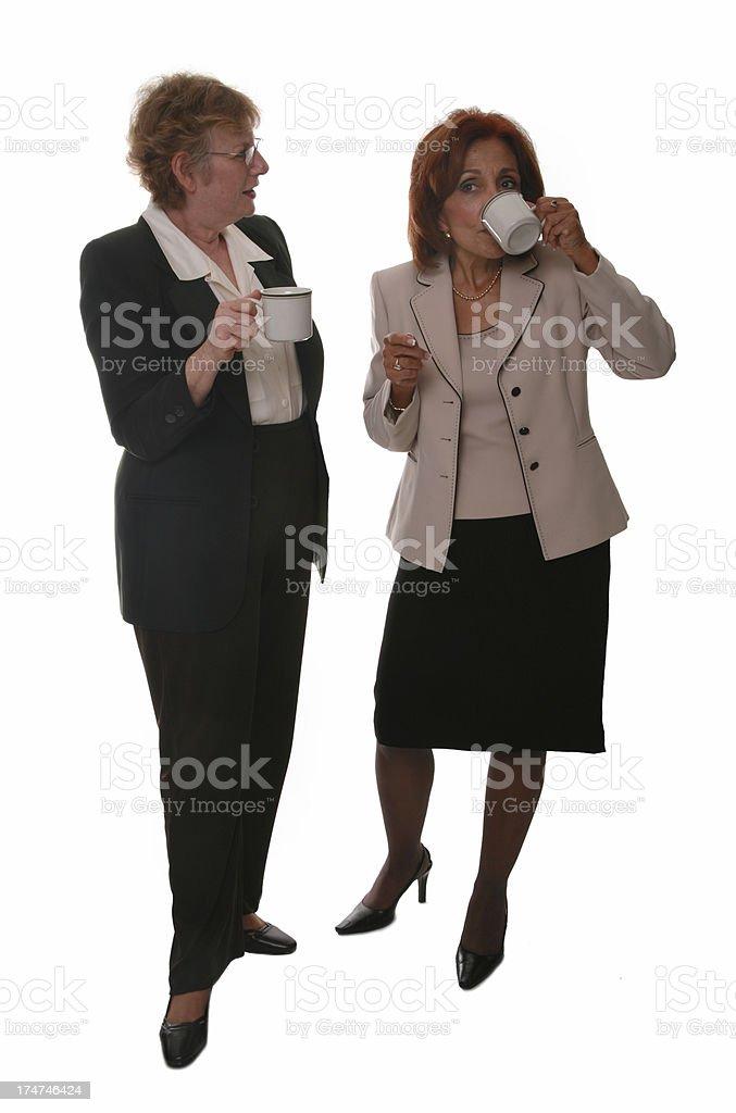Coffee Gossip royalty-free stock photo