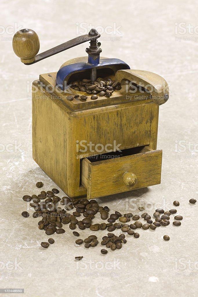 coffee grind stock photo