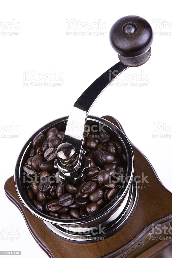 Coffee Grinder Close Up royalty-free stock photo