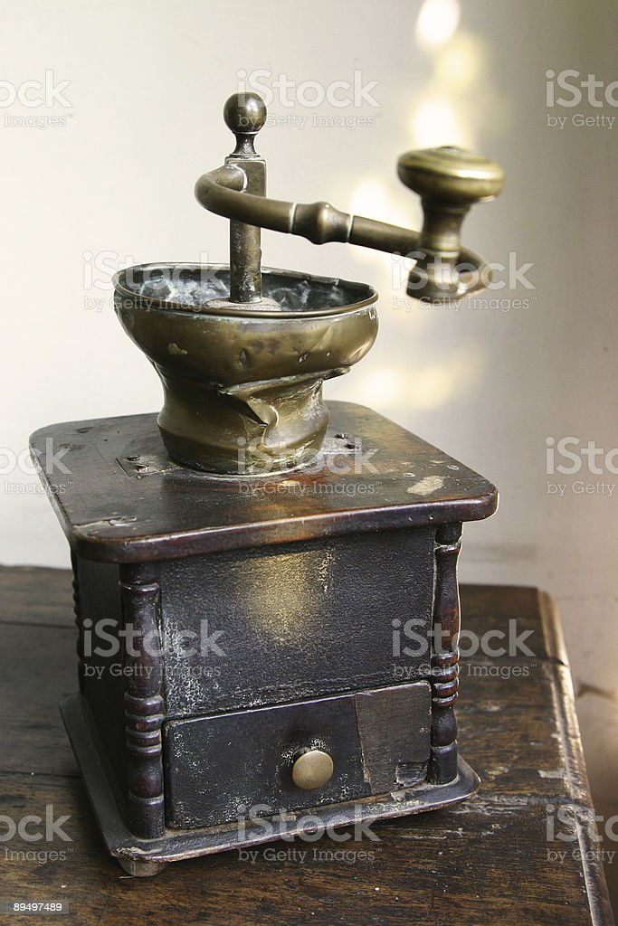 Coffee grinder royalty-free stock photo