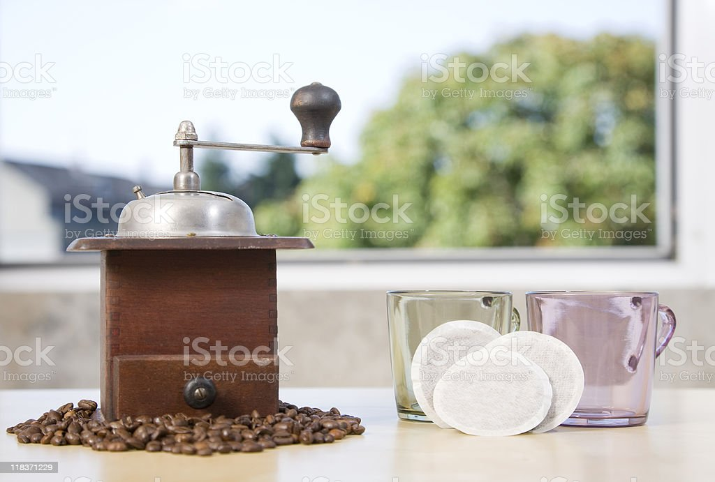 Coffee Grinder Series royalty-free stock photo