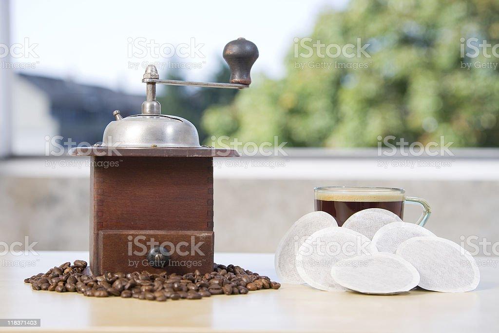 Coffee Grinder Series royalty-free stock photo