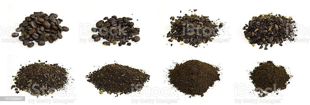 Coffee Grounds stock photo