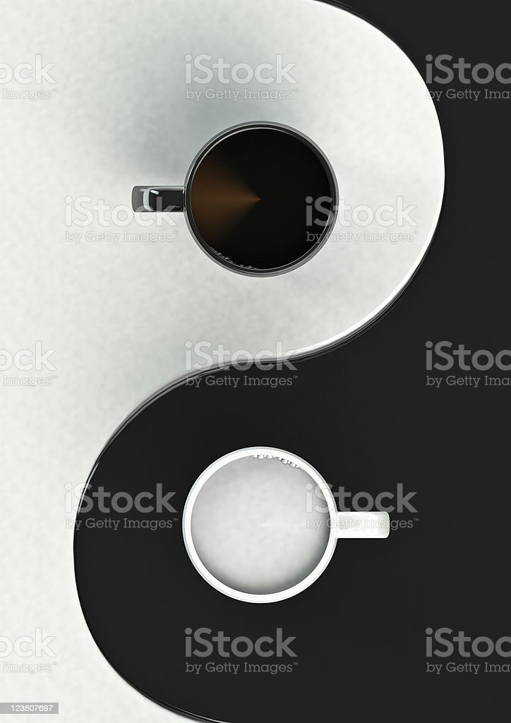 Coffee harmony stock photo