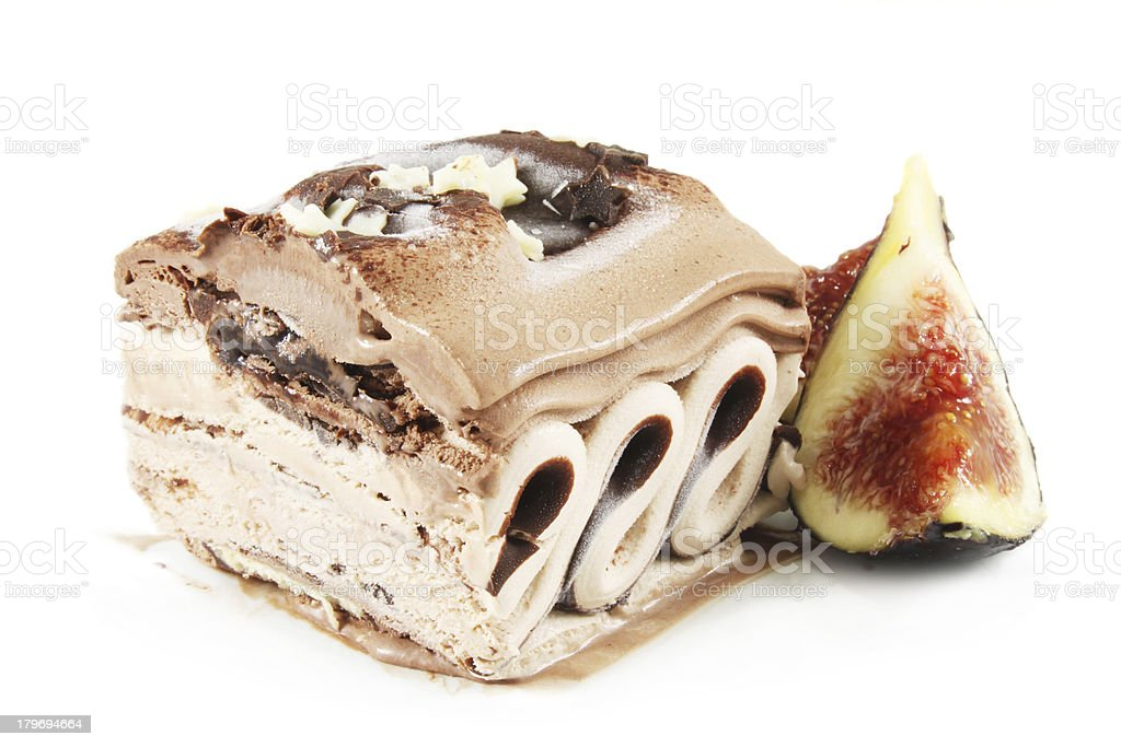 coffee ice cream royalty-free stock photo