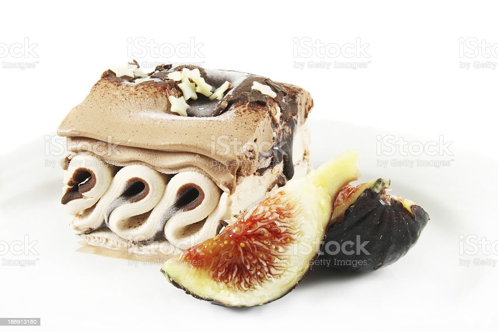 coffee ice cream royalty-free stock photo