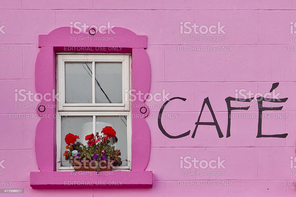 Coffee in your window stock photo