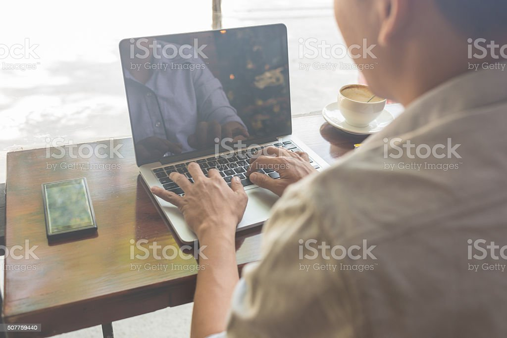Coffee is necessary for employees to focus on their jobs stock photo