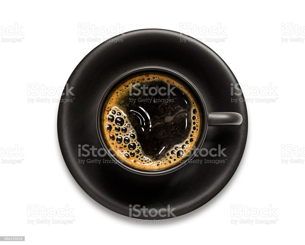 Coffee isolated stock photo