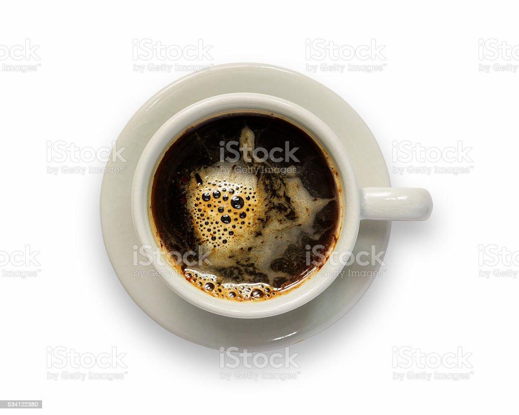 Coffee isolated stock photo