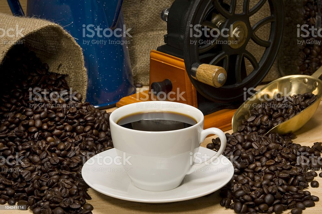 Coffee Landscape royalty-free stock photo