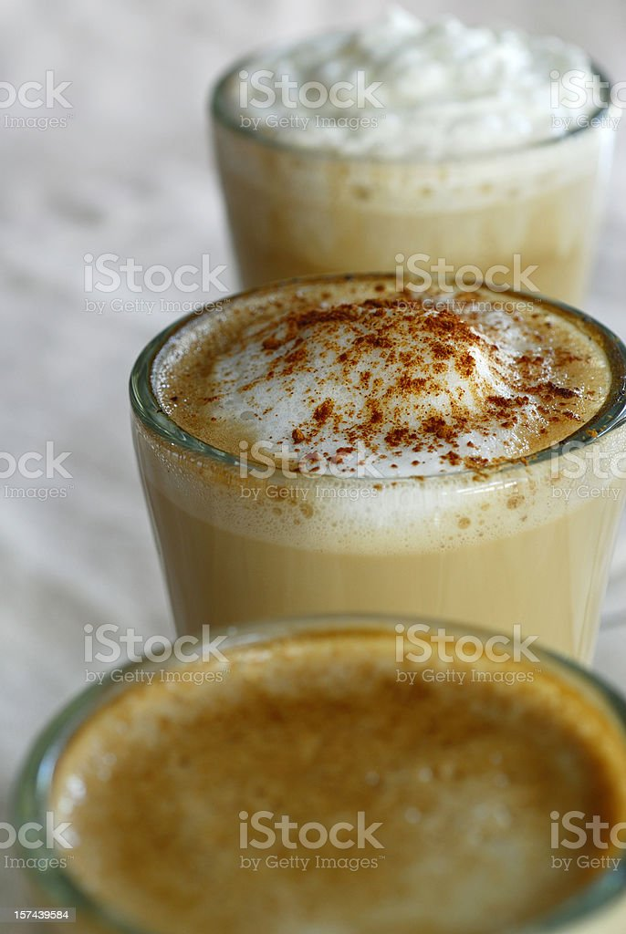 Coffee Latté royalty-free stock photo