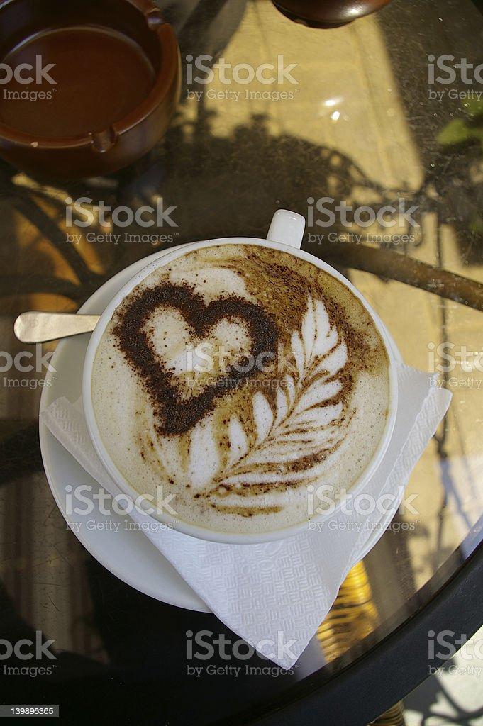 Coffee Love royalty-free stock photo