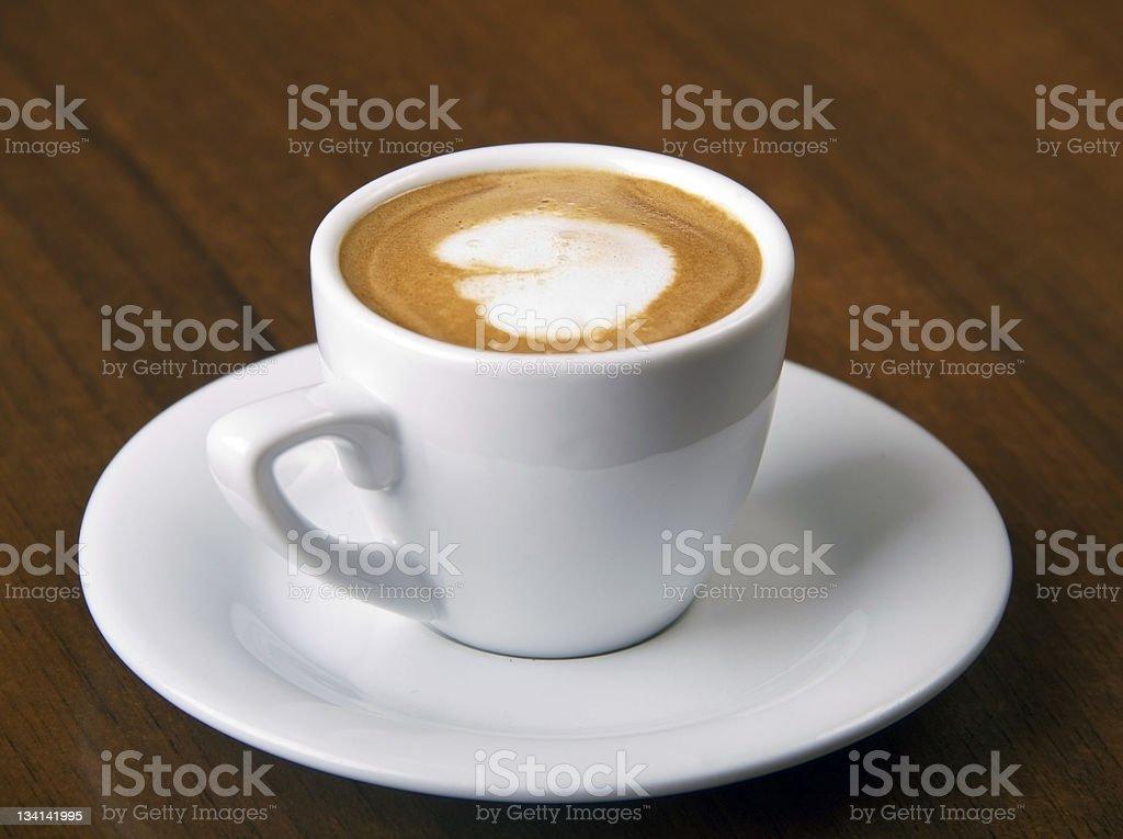 Coffee Macchiato royalty-free stock photo