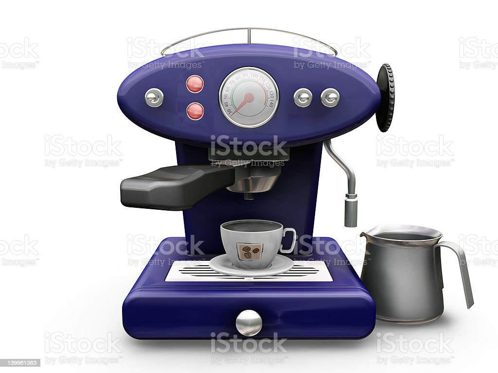 Coffee machine royalty-free stock photo