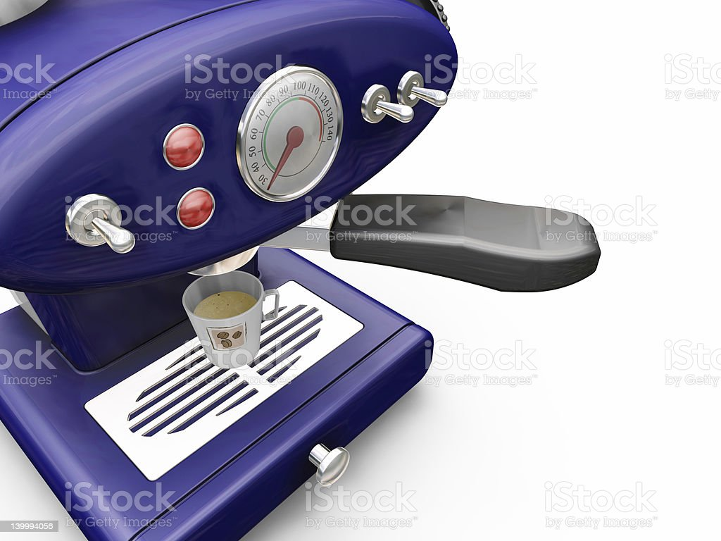 Coffee machine royalty-free stock photo