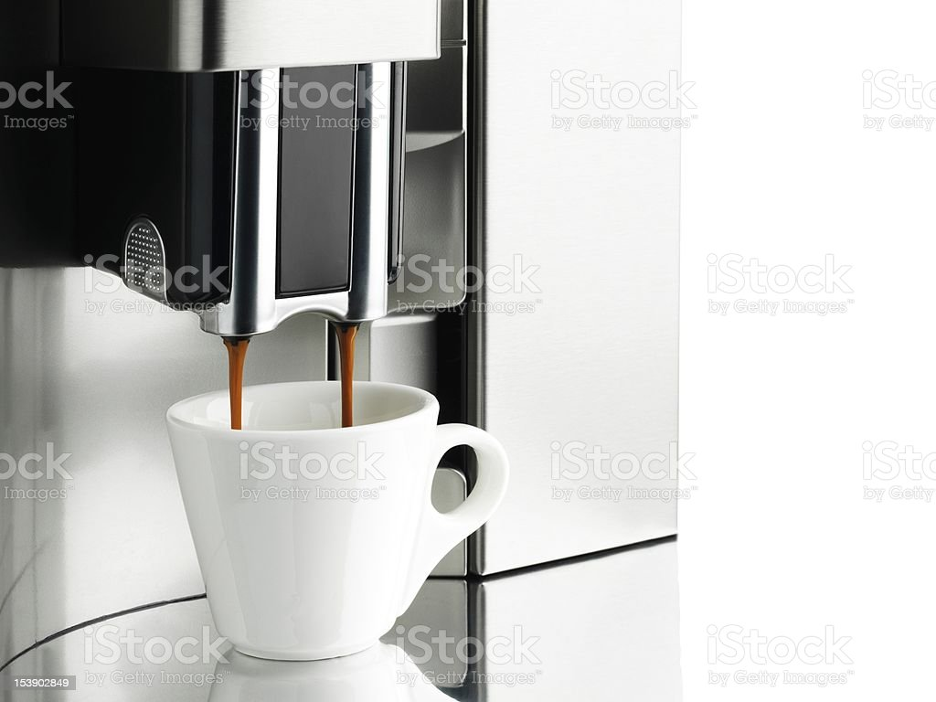 Coffee Machine stock photo