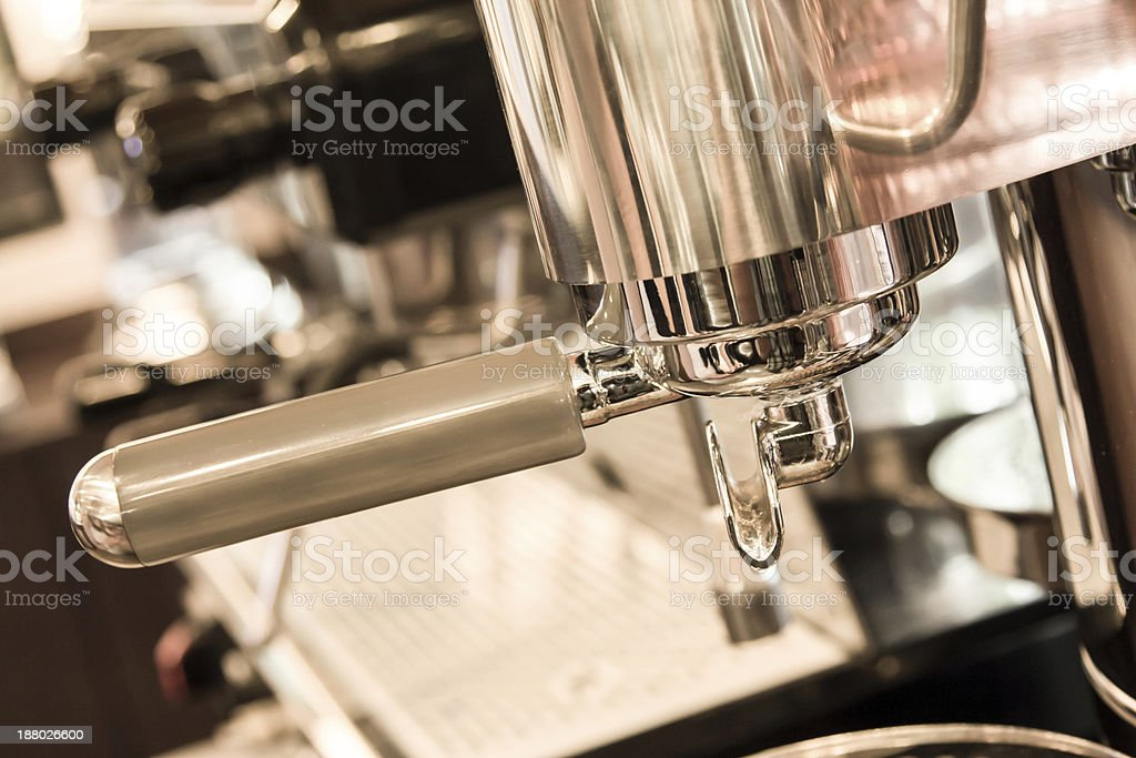 Coffee machine. stock photo