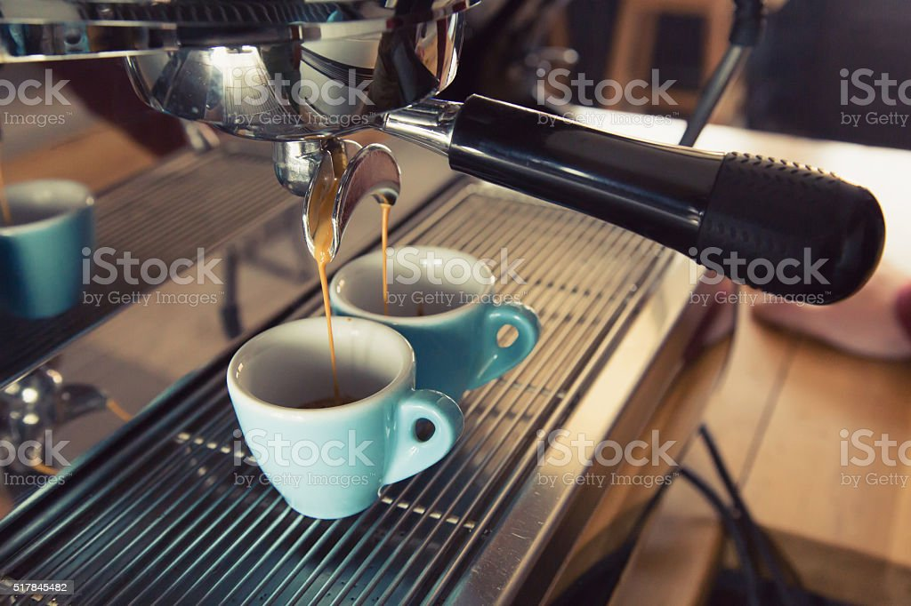 Coffee Machine stock photo